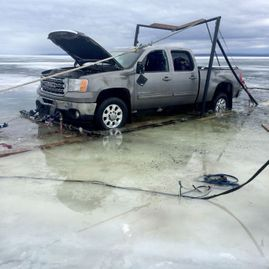 Big Hill Towing Ice Recovery