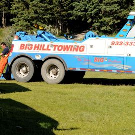 Big Hill Towing Heavy Duty Towing