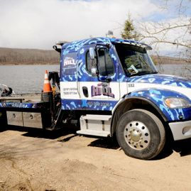 Big Hill Towing Water Recovery